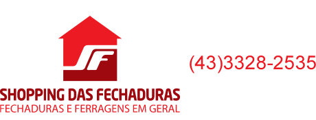 Shopping das Fechaduras - Fechaduras e Puxadores em Londrina